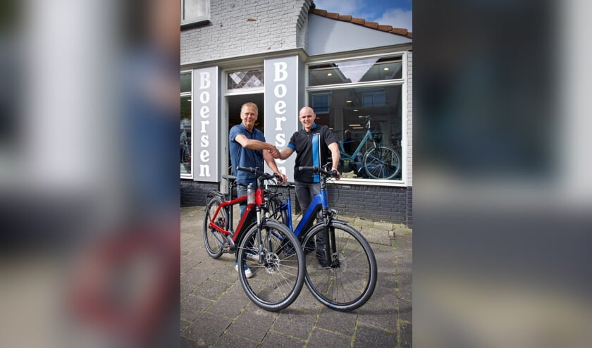 Links André Duijker en rechts Danny de Graaf.