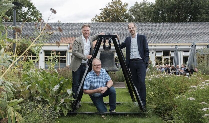 V.l.n.r. Thijs Smit, Rob van de Wal en Gideon Nijemanting.