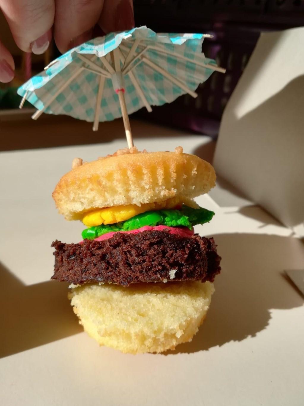 Een originele inzending van de cupcakewedstrijd.   © Uitkijkpost Media B.v.