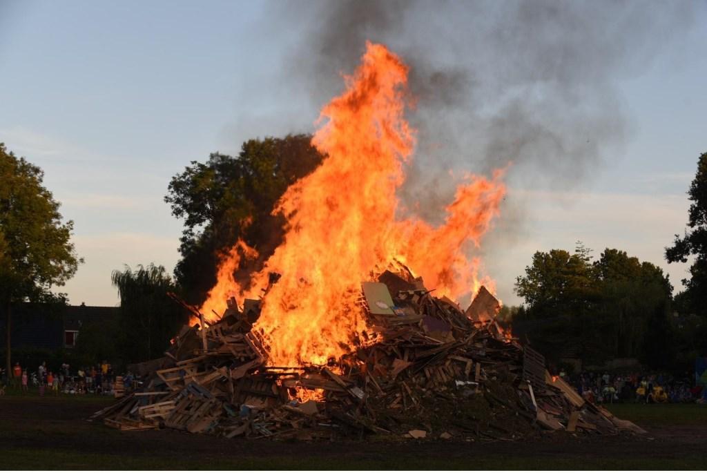 Het is al een serieus vuur. Foto: Jack Schaap © Uitkijkpost Media B.v.