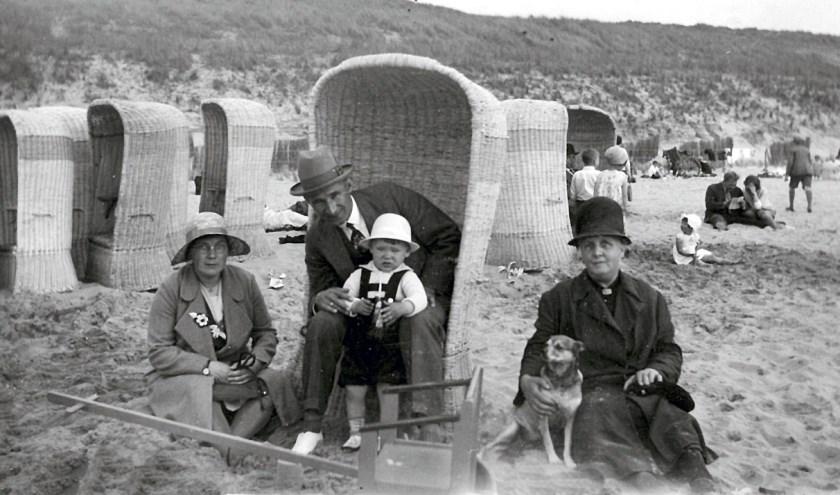 Een stranddag in de jaren '30