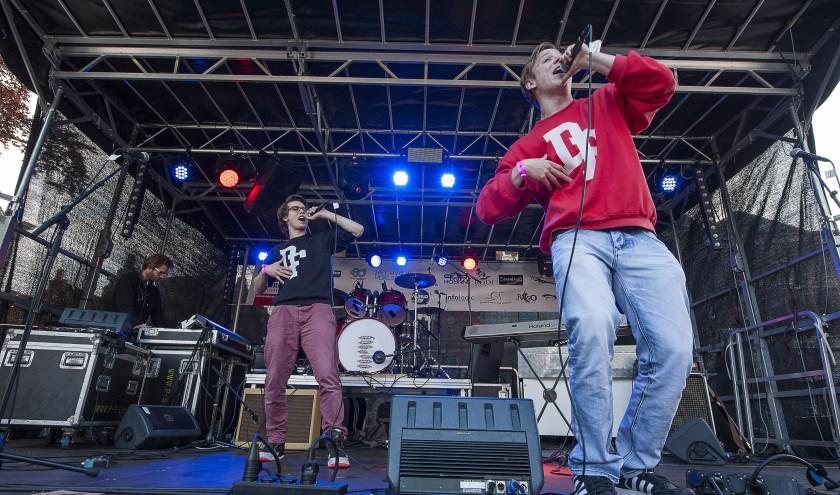 Hiphopduo Sam & Falko bouwt een feestje!