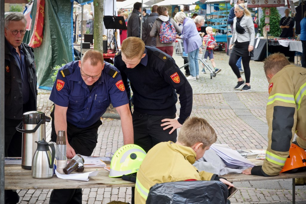 'Werkoverleg' bij de brandweer. Foto: STiP Fotografie © Uitkijkpost Media B.v.