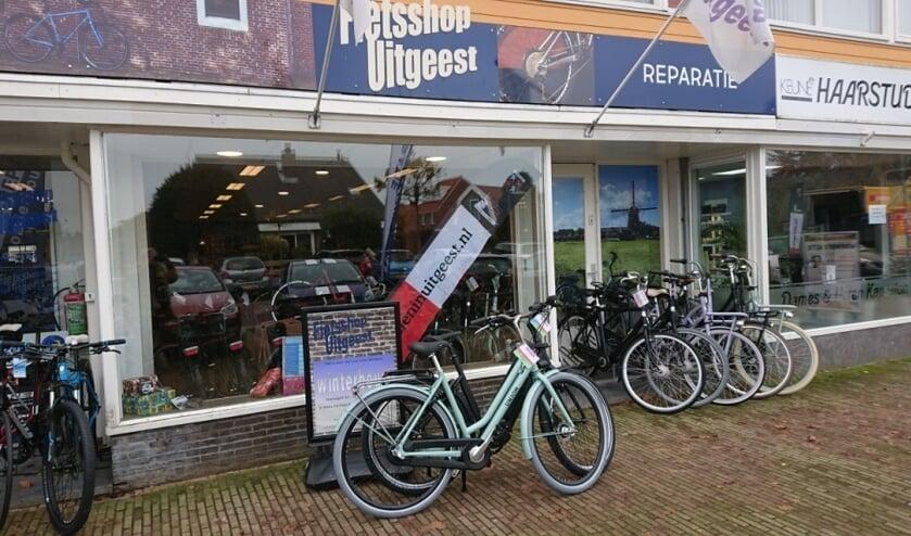 Het is weer tijd voor de jaarlijkse winterbeurt bij Fietsshop Uitgeest.