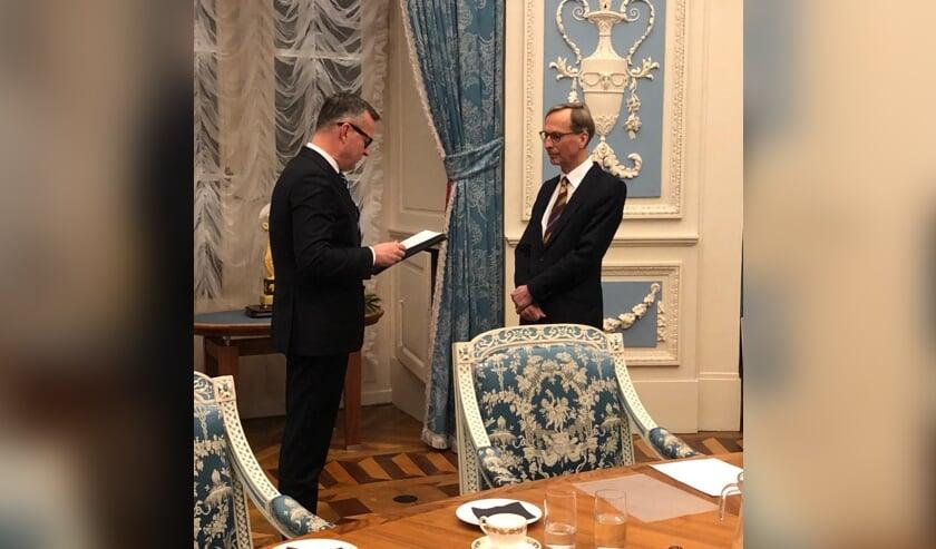 De heer Gerrit Goedhart wordt benoemd tot waarnemend burgemeester.