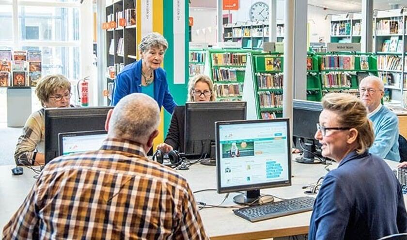 Tijdens de computervraagdagen worden er verschillende activiteiten georganiseerd in de bibliotheek.