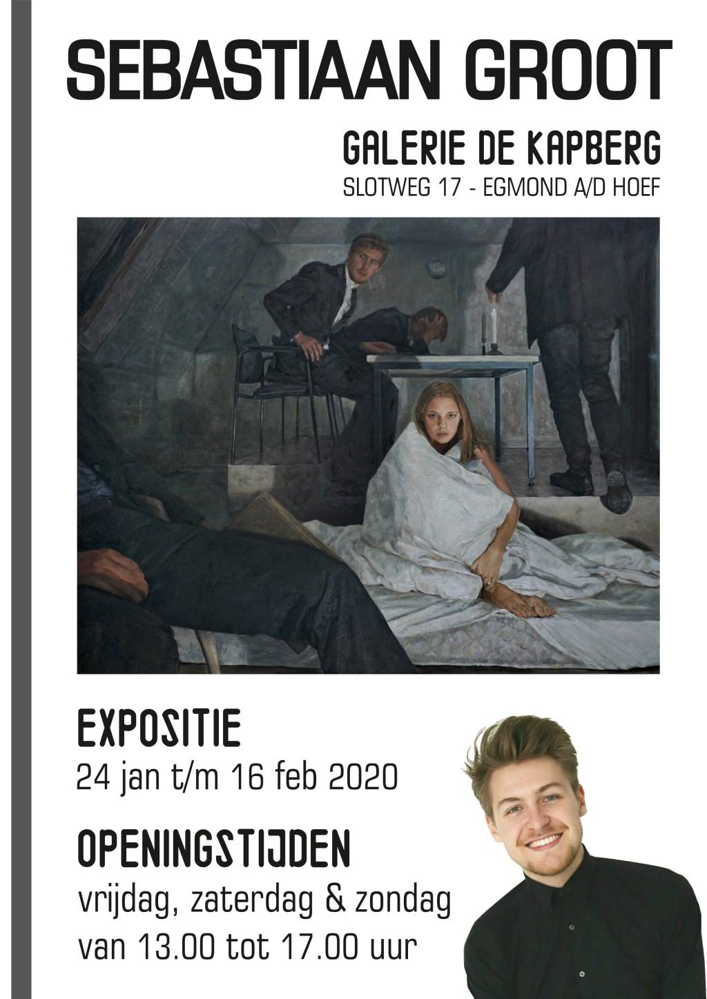 De aankondigingsposter van de expositie. Foto: aangeleverd © Uitkijkpost Media B.v.