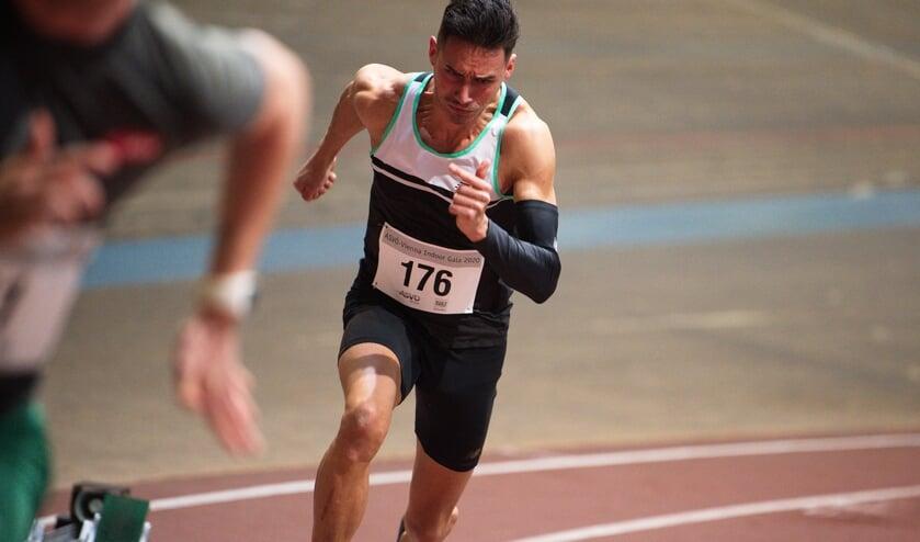 <p>Owen Westerhout, een van de 400 metersprinters bij de groep van Sven Ootjers van AV Trias, gaat zich inzetten voor Het Vergeten Kind.</p>