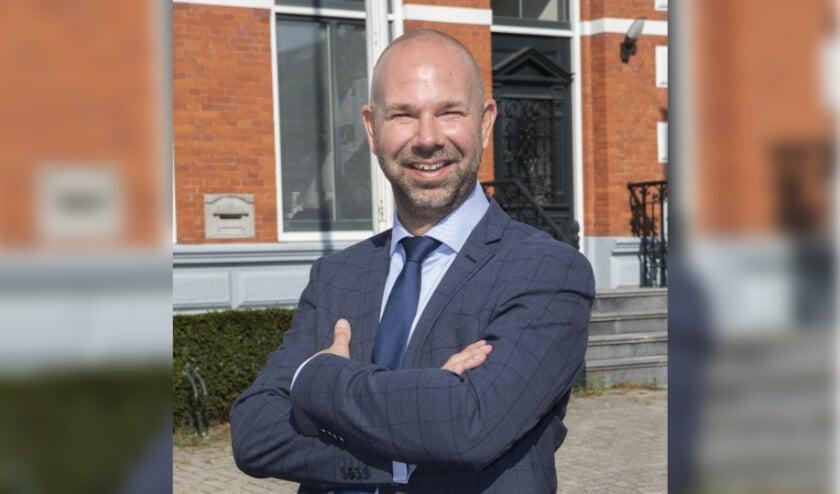 <p>Burgemeester Sebastiaan Nieuwland.</p>