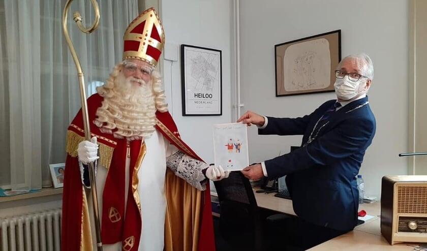 <p>Eerste tekeningen voor Sinterklaas zijn binnen!</p>