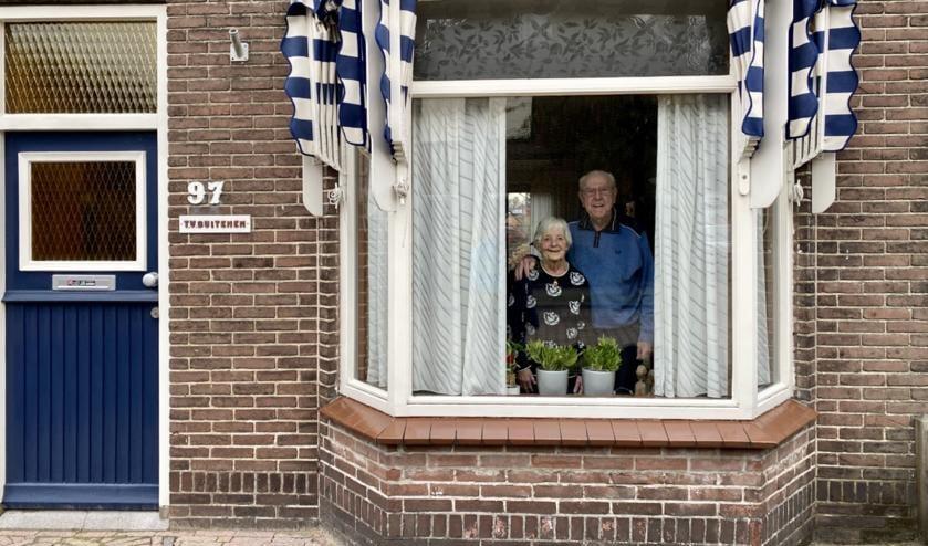<p>60 jarig huwelijk Theo en Gre van Buitenen</p>