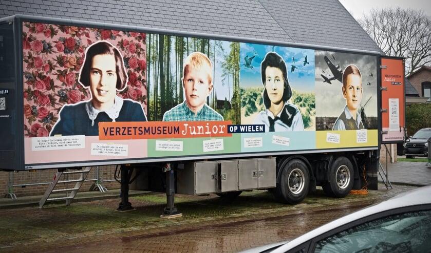 Verzetsmuseum op Wielen.