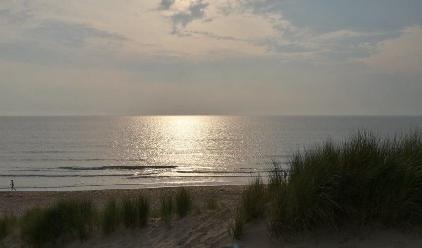 Het strand van Egmond aan Zee.