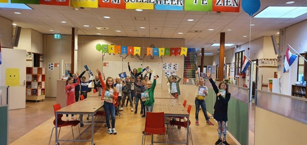Op de Benedictusschool hebben de leerlingen er ook weer zin in.  Foto: aangeleverd © Uitkijkpost Media B.v.