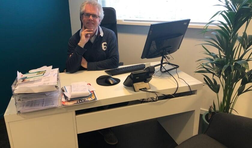 Huisarts Chesters in zijn nieuwe praktijkruimte in gezondheidscentrum MOVE!.
