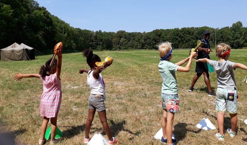 Tijdens de Zomerspelen Heiloo kunnen kinderen genieten van een week lang buitenactiviteiten.