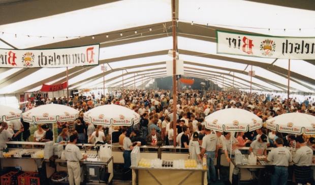 Ypestock 1997, de dag na de storm. Foto: aangeleverd © Uitkijkpost Media B.v.