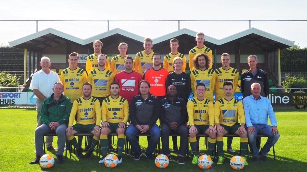 FC Uitgeest 1 Foto: Marianne Jonker © Uitkijkpost Media Bv.