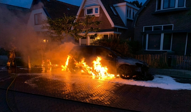 Autobrand Westerweg.