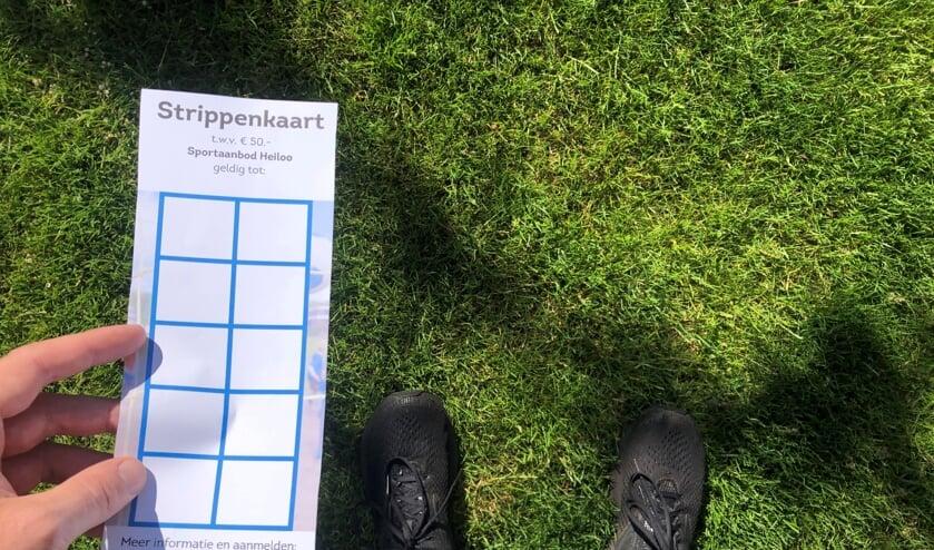 Met de strippenkaart kun je verschillende sporten uitproberen bij aangesloten sportaanbieders.