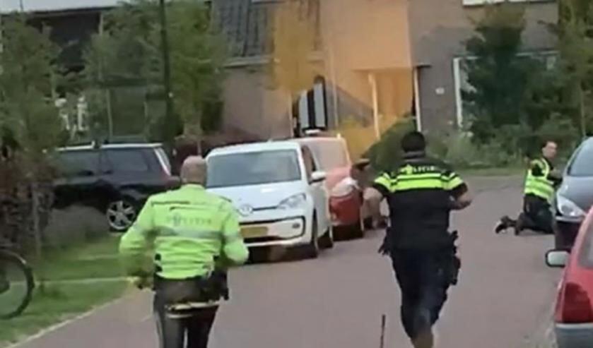 Arrestatie op De Driestal Heiloo