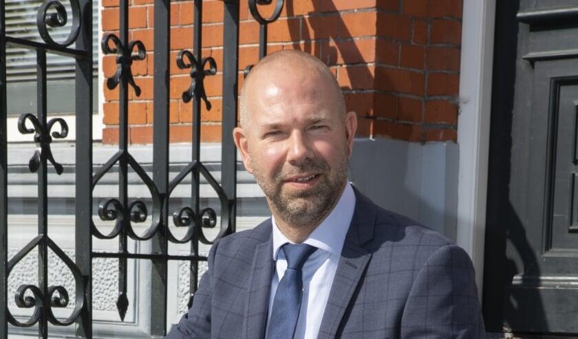 <p>Burgemeester Sebastiaan Nieuwland</p>