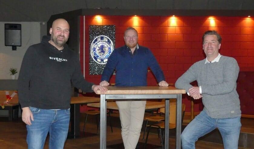 v.l.n.r. Felix Aerts, Ralph Blom en Michel Dalmolen