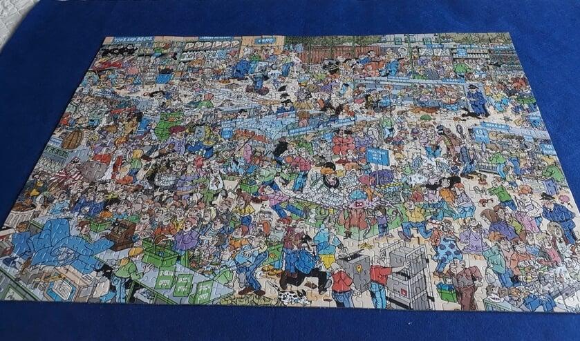 Lastige puzzel van Jan van Haasteren