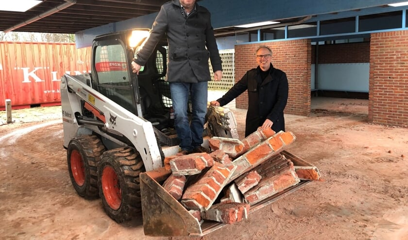 <p>Wethouder Rob Opdam en Teun van Etten.</p>
