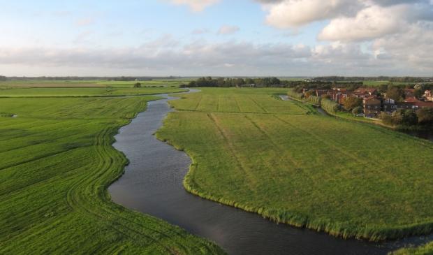 <p>Het historisch waardevolle gebied tussen Castricum en Uitgeest met de oude Oer-IJ kreek De Dye.</p>