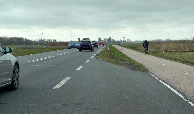 Provinciale weg N203.
