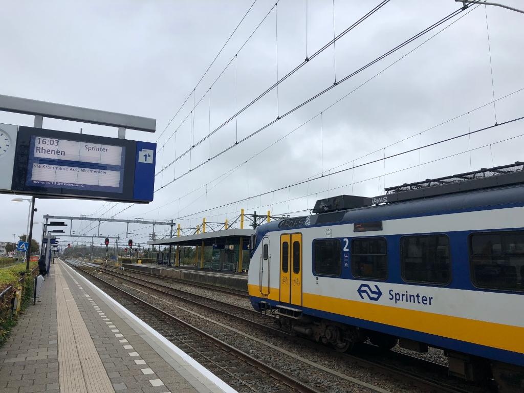 Station Uitgeest.