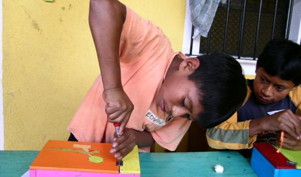 <p>In het Timmerproject leren kinderen hun talent ontdekken en ontwikkelen.</p>