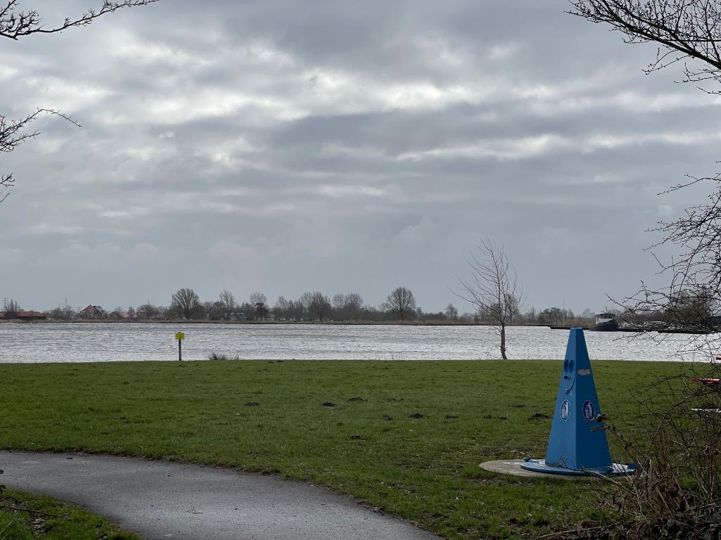 Uitgeestermeer vanaf Dorregeest. Foto: Anita Webbe © Uitkijkpost Media Bv.