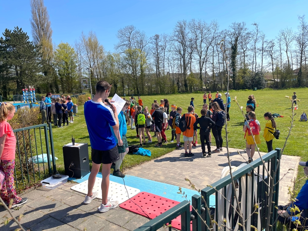 Sport- en spelmiddag voor de kinderen. Foto: Anita Webbe © Uitkijkpost Media Bv.