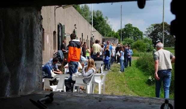 <p>Open Dag Fort aan den Ham (archieffoto).</p>