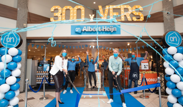 <p>Albert Heijn opent 300<sup>e</sup> winkel met nieuwe formule in Heiloo!</p>