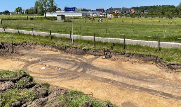 <p>Spectaculaire vondsten bij de Lagelaan in Heiloo.</p>