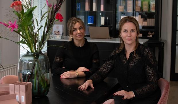 Madya Donker en Cathelijne de Lint.
