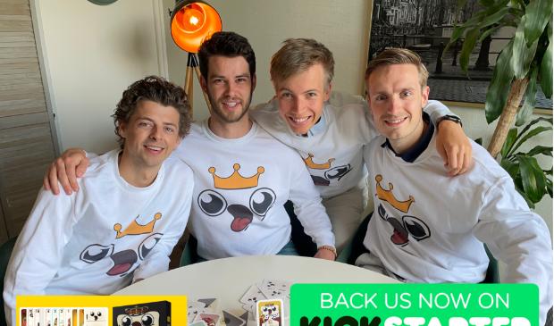 <p>Niels, Sjoerd, Dennis en Koen.</p>