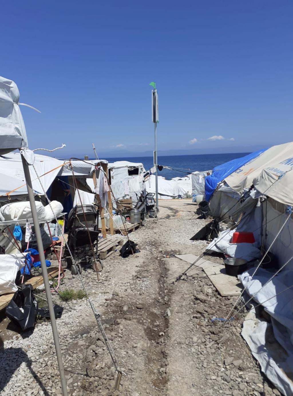 Het kamp. Foto:  © Uitkijkpost Media B.v.