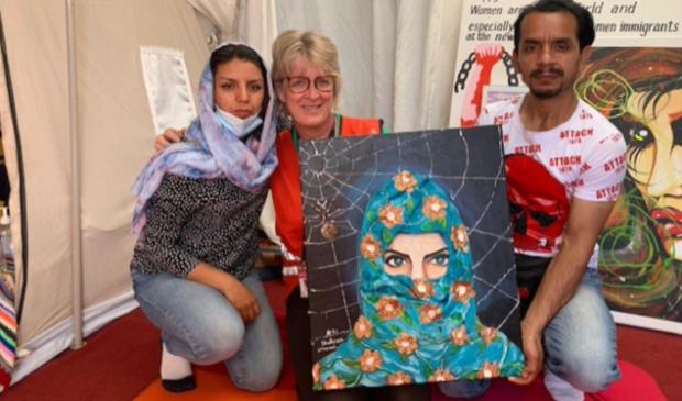Heiloose Marie-José vraagt hulp voor de de 'onzichtbare' vluchteling