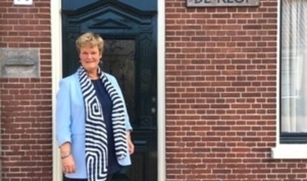 Initiatiefnemer Carla de Waal.