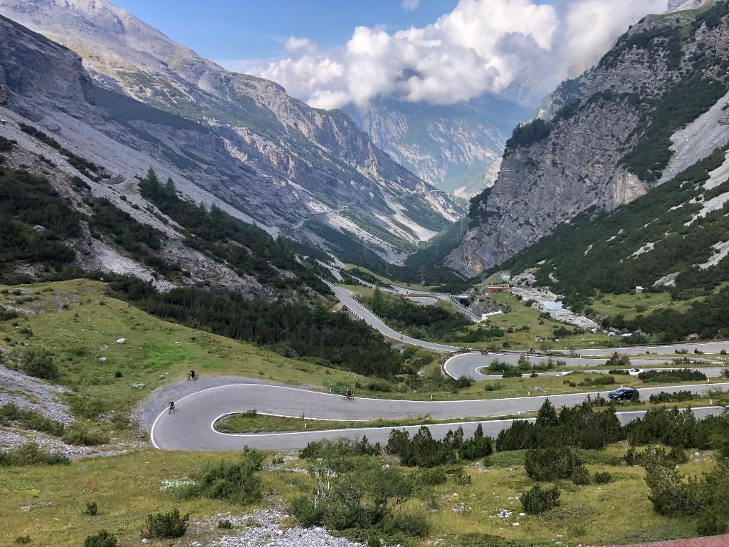 De weg naar de top, Giro di Kika 2021. Foto: aangeleverd © Uitkijkpost Media B.v.