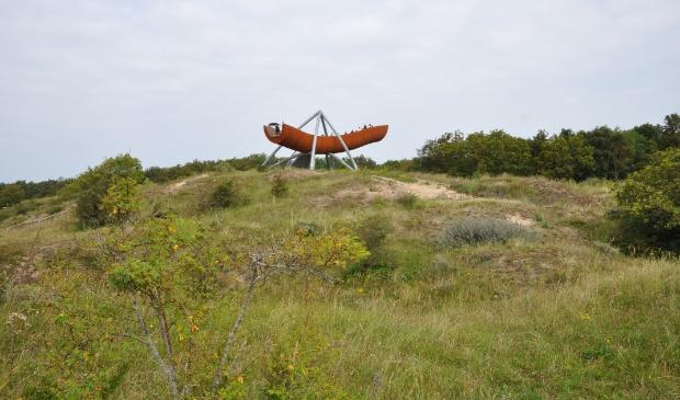 <p>Excursie voorhistorie bij Papenberg in duingebied Castricum.</p>