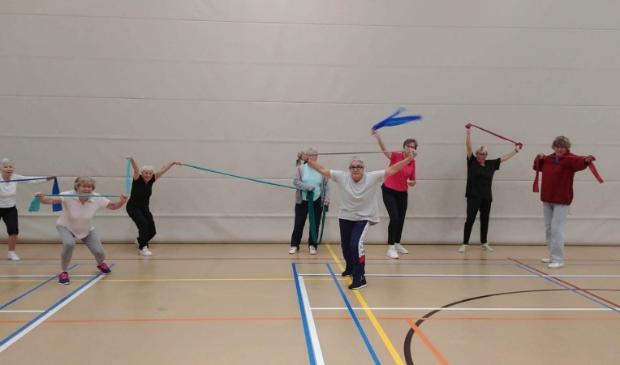 Gymmen bij LONGA door oma van 85