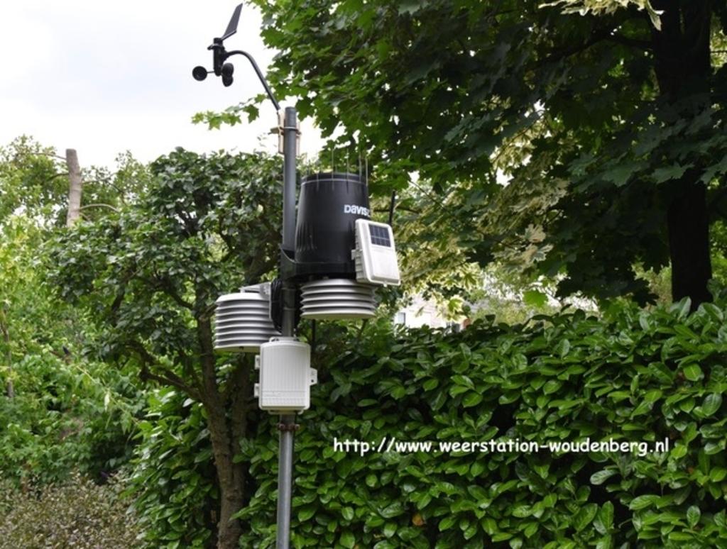 <p>Weerstation Woudenberg</p>  © Let op Woudenberg