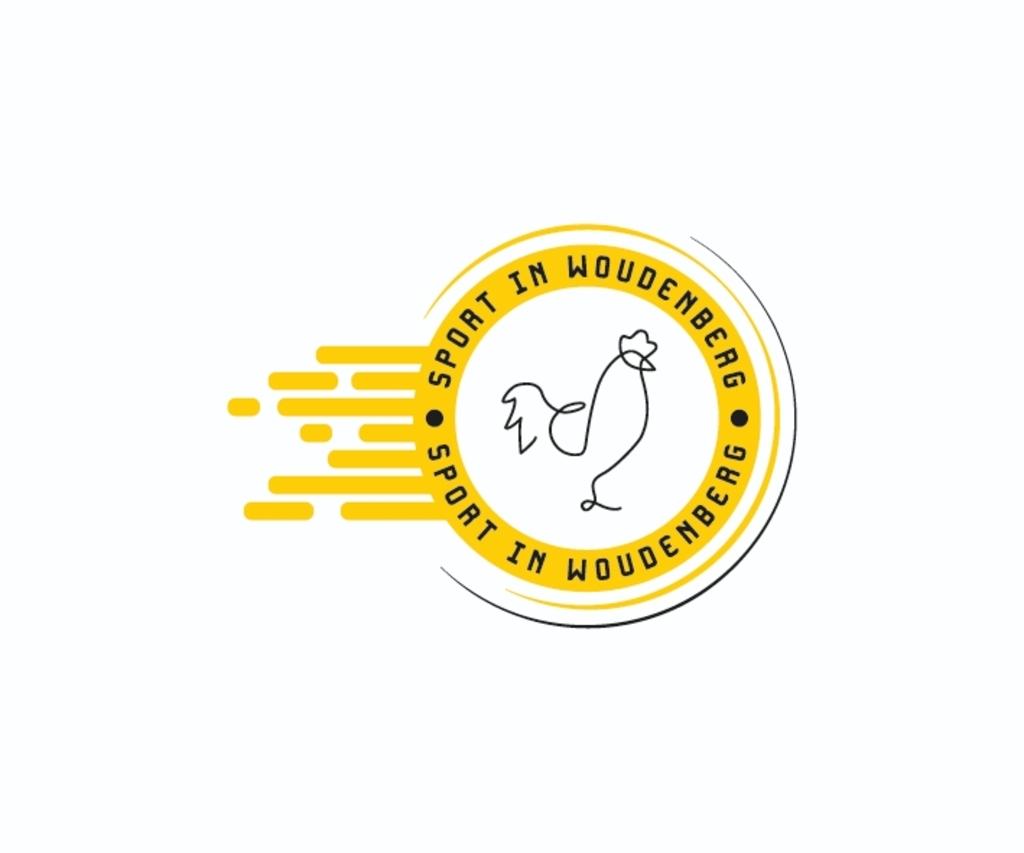 <p>Het logo van Sport in Woudenberg, ontworpen door Imke Jacobs van Designstudio</p>  © Let op Woudenberg
