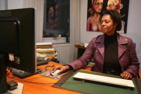 Burgemeester Joyce Sylvester van Naarden