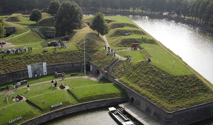<p>Het Vestingmuseum op de huidige locatie.</p>